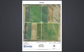 South Dakota County Map Haakon County Cropland Dakota Land Co