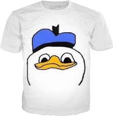 Donald Meme - duck meme shirt