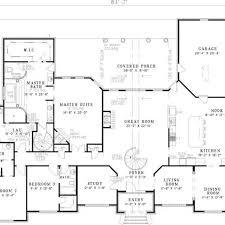 walkout basement floor plans large ranch style house plans fresh stylist design ranch home floor