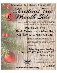 christmas tree u0026 wreath sale sauquoit boy scout troop 50
