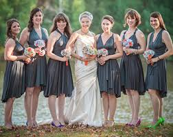 gray bridesmaid dress bridesmaid dresses etsy