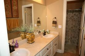 Bathroom Makeover Ideas Quick Bathroom Makeover Add A Strip Of Glass Tiles In Bathroom