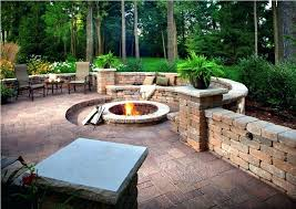 Ideas For Backyard Patio Paverstone Gallery Of Best Patio Ideas On Brick Patio