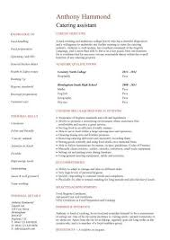 Cosmetologist Job Description For Resume by Shining Ideas Catering Manager Resume 14 Catering Manager Resume