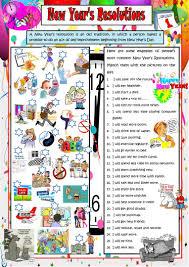 Categorizing Worksheets 111 Free Esl New Year Worksheets