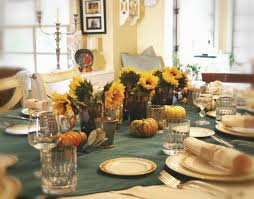 simple cool kithen dining thanksgiving table decorations come with