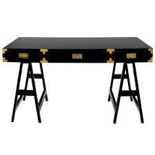 chiba study desk black lacquer consoles u0026 desks selamat