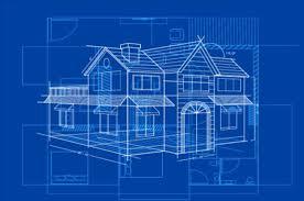 blue print designer simple blueprint building vectors design 05 vector architecture