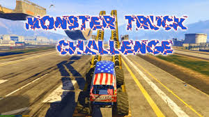 video monster truck monster truck challenge gta5 mods com