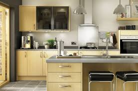 Maple Kitchen Furniture Slab Style Maple Kitchens Options Range Benchmarx Kitchens