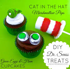dr seuss cupcakes diy dr seuss treats green eggs ham cupcakes cat in the hat