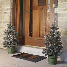 pre lit potted 3 foot porch tree free shipping today overstock