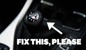 Dear Bmw Please Sort Out Your Manual Gearbox