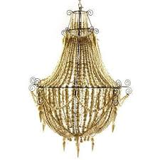 Chandelier Removal Large Mud Beaded Chandelier Abigail Ahern