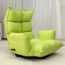 Reclining Armchairs Living Room Aliexpress Com Buy Floor Folding Modern Leather Armchair 360