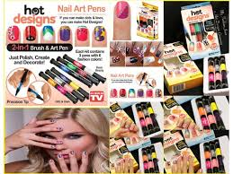 nail art pens as seen on tv glamour nail salon