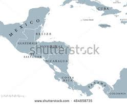 map of south america and mexico central america map stock images royalty free images vectors