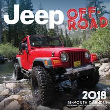 jeep rubicon 2017 pink all things jeep jeep calendars 2018 calendars have arrived