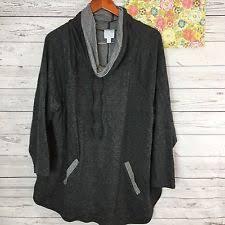 dressbarn women u0027s cowl neck sweaters ebay