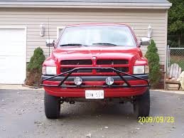 prerunner dodge truck anyone have this n fab pre runner style front bar dodge ram