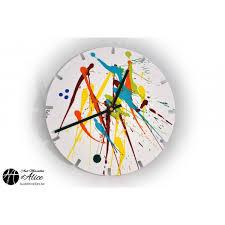 buy clock artclock splash clocks