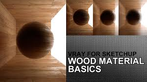 how to create wood floor material in vray for sketchup 2 0