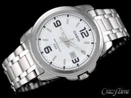 Jam Tangan Casio Mtp jam tangan casio pria mtp 1314d rantai silver original