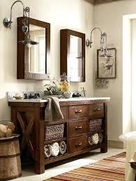 bathroom vanity rustic u2013 paperobsessed me