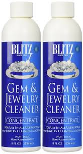 and jewelry blitz gem jewelry cleaner concentrate 8 oz 3 pack