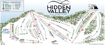 Missouri Road Map Hidden Valley Mo Trail Map U2022 Piste Map U2022 Panoramic Mountain Map