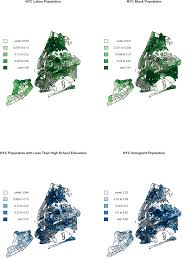 Map Of New York City Neighborhoods by Worms In The Big Apple Identifying Patterns Of Toxocariasis