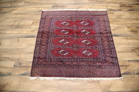 4x4 Area Rugs Geometric Square 4x4 Turkoman Area Rug Wool