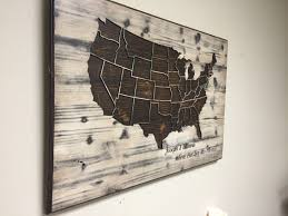 World Map Us by Wood Us Map Wall Art Carved United States Map Us Map With