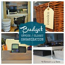 Office Organizing Ideas Small Home Office Organization Ideas Closet Office Organization On