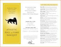banquet program templates sports program template authorization letter pdf