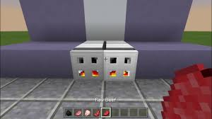 Minecraft How To Make A Furniture by Minecraft How To Make A Oven Youtube