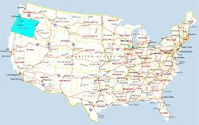 map of oregon us political map of united states with the several where fair
