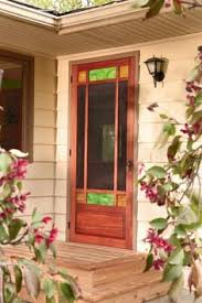 Free Wood Craft Plans by Building An Arts And Crafts Style Screen Door Free Woodworking