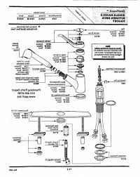 elegant moen single handle kitchen faucet repair diagram 11 for