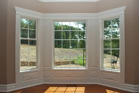 Exterior Door Pediment And Pilasters Window And Door Trim With Wainscoting Panels