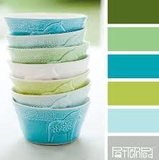 Green Color Bowl Bliss Color U0026 Combination Color Palette Color Scheme