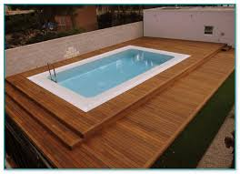 above ground pool wood deck kits