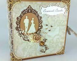wedding scrapbooks albums vintage wedding photo album scrapbook or guestbook handmade