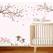 wall decals for nursery flowers color the walls of your house wall decals for nursery flowers cute ella grace name nursery wall decals design with