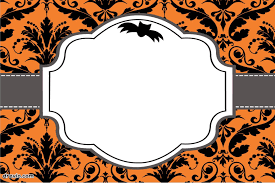 halloween birthday party invitations templates image collections