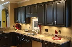 decorations white tile backsplash and brown wooden kitchen