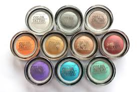 entirely from maybelline color eye shadows review