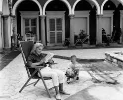 virna lisi smiling with her son corrado pesci pictures getty images