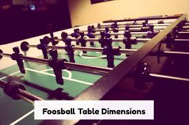 foosball table dimensions premier comfort heating