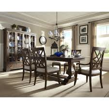 trisha u0027s trestle table with 18 inch leaf by trisha yearwood home